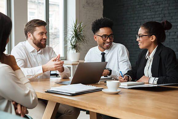 businessmen-businesswomen-collaboration